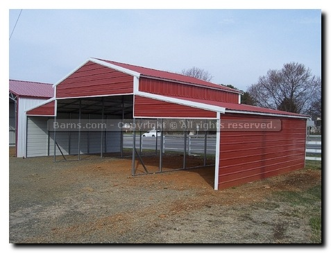 horse run-in shed