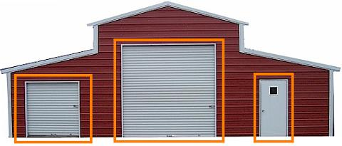 Barn Door Options For Your New Outdoor Building Barns Com