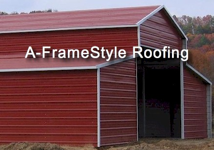 a-frame barn roofing, aframe roof