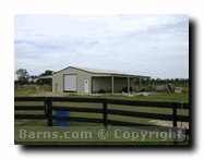 metal horse barns for sale