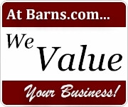 we value your business at barns.com